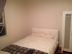 Airbnbで宿泊した部屋
