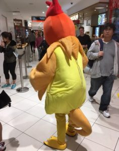 チキンの着ぐるみ