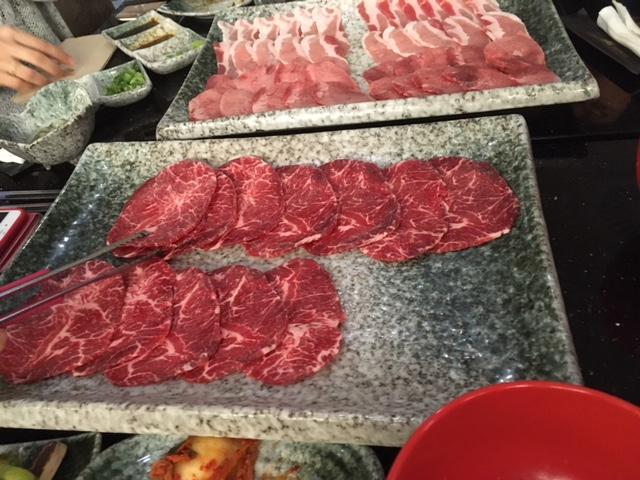 肉屋の食べ放題
