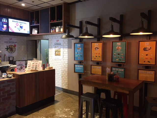 Rolledの店内