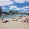 ブリスベンにあるビーチに行ってきた!サウスバンクの人口ビーチは水着ギャルもBBQ設備もあっておすすめ!
